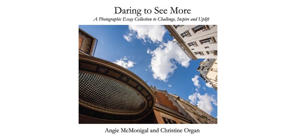 daring to see more, photo books, inspiration