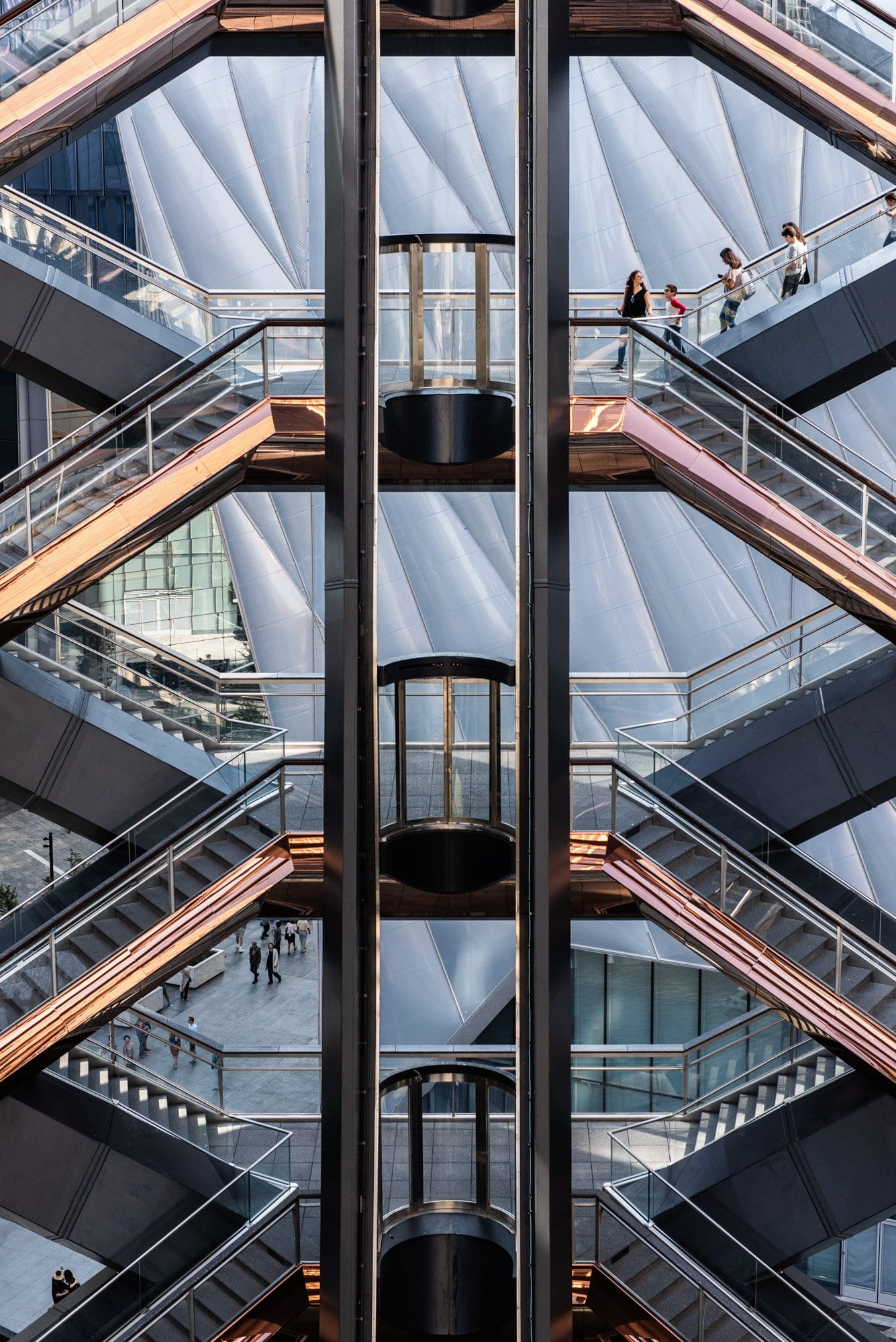 the shed, diller scofidio + renfroThe Vessel, Hudson Yards, New York City, Thomas Heatherwick