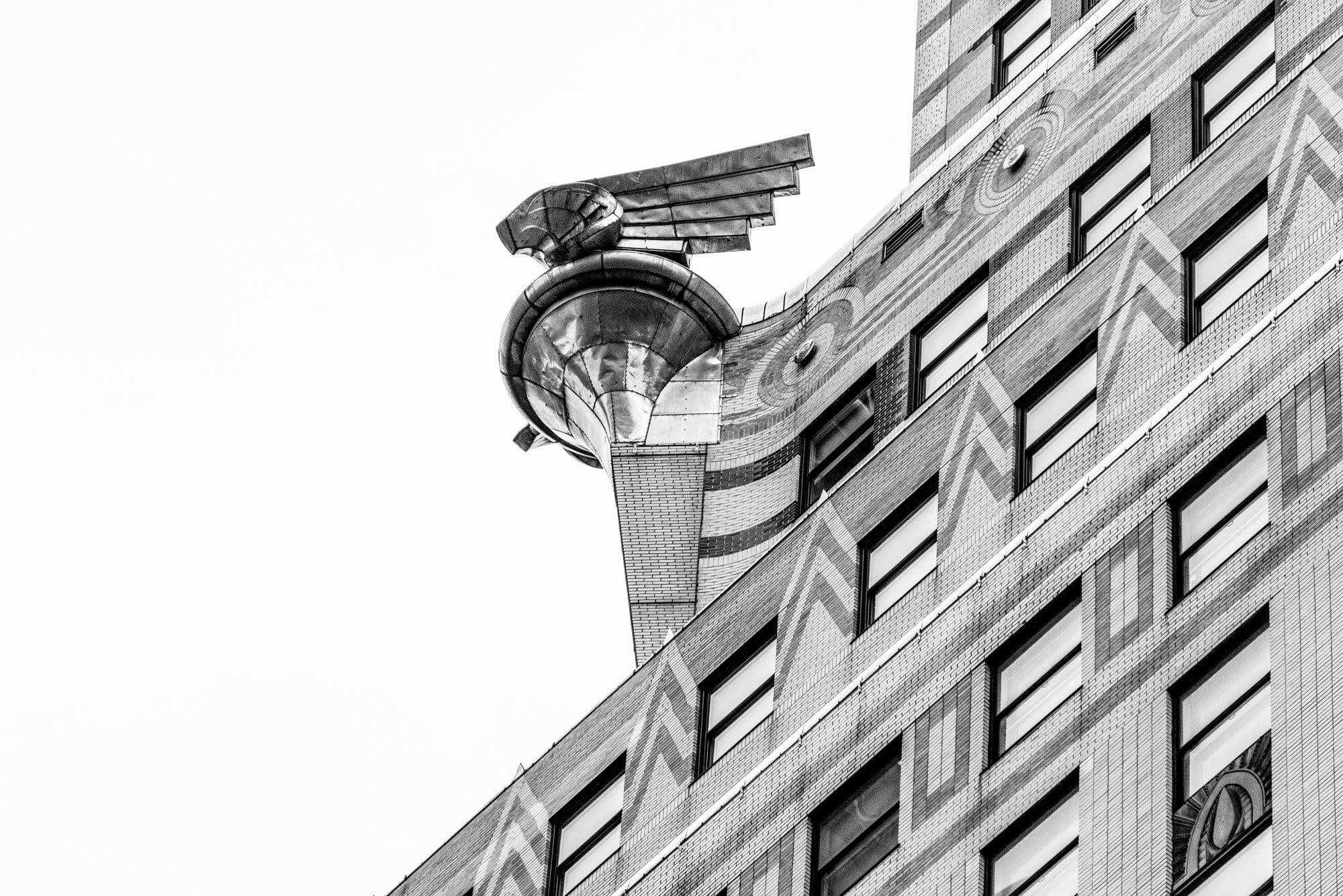 chrysler building, art deco