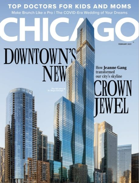 chicago magazine, st regis chicago, studio gang architects, magellan development group, bkl architects