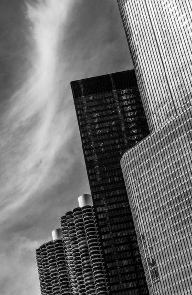marina city, 330 n wabash, trump tower chicago
