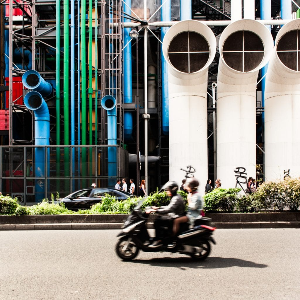 centre pompidou, renzo piano, paris architecture